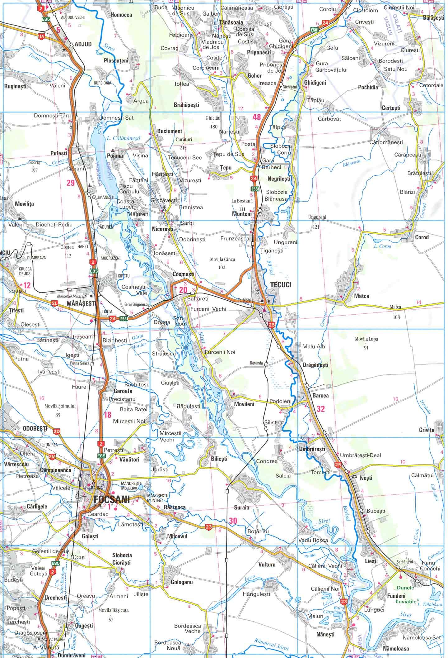 Harta Mausoleul Eroilor Din Primul Razboi Mondial De La Marasesti