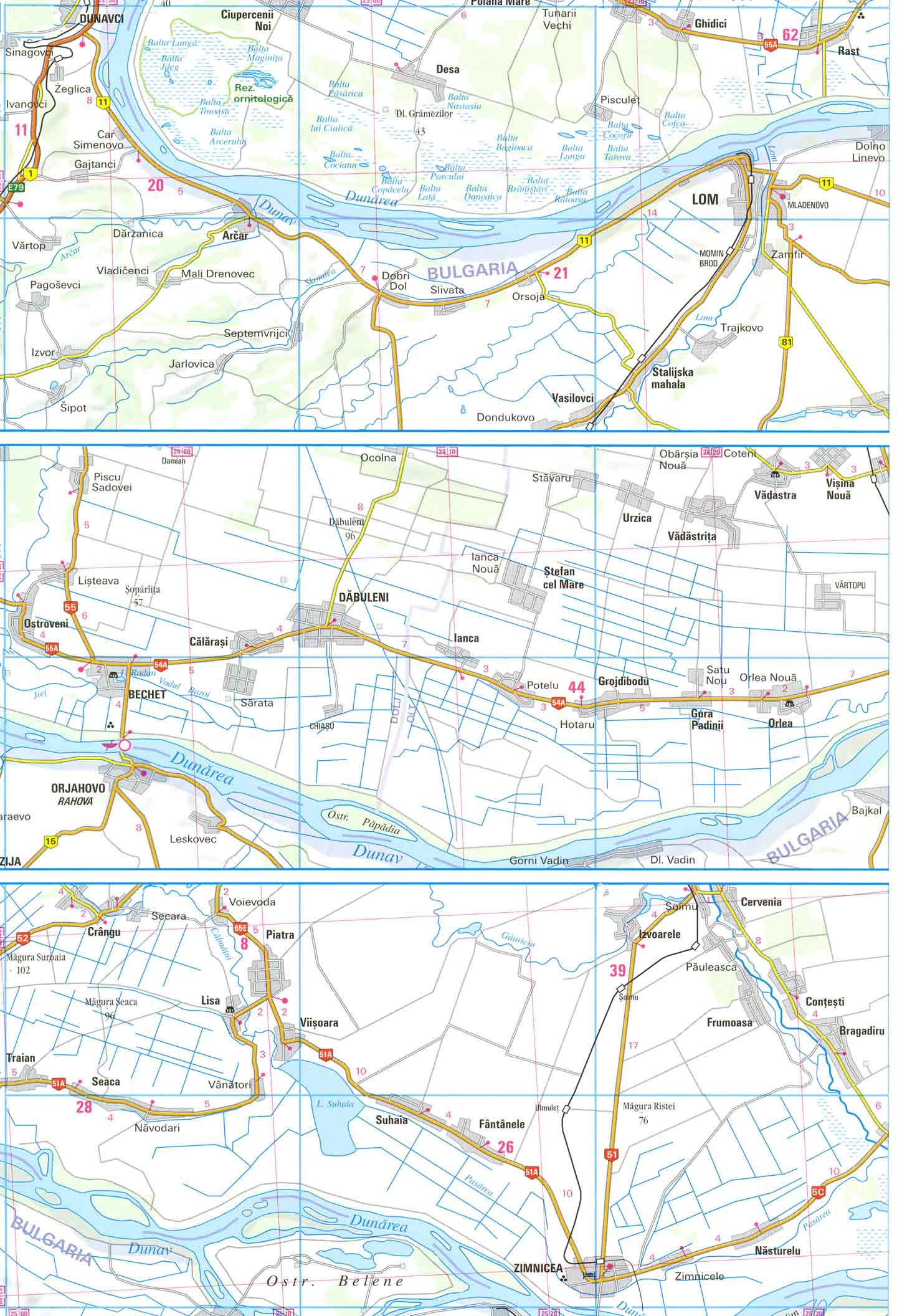 Harta Zimnicea